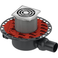 Трап TECE drainpoint S 3601200 h98мм комплект для душа, с решеткой