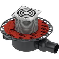 Трап TECE, комплект TECEdrainpoint S (артикул 3601200) h98мм, точечный, для ванной и душевого пространства