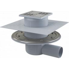 Сливной трап Alcaplast APV1324 горизонтальный, комбинированный гидрозатвор, для подключения к канализации