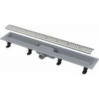 Душевой лоток Alcaplast APZ10-650M комплект с решеткой Simple 10 650мм, корпус пластик