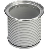 Viega 586 416 Надставной элемент для круглых решеток 120мм, рамка сталь, системный размер 100