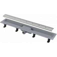 Душевой лоток Alcaplast APZ10-750M комплект с решеткой Simple 10 750мм, корпус пластик