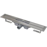 Alcaplast APZ1-650 Водоотводящий желоб для душевого лотка, нерж. сталь, для решетки 65см, общая длина 71см