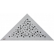 Alcaplast View/ARZ1 Стальная решетка для углового трапа