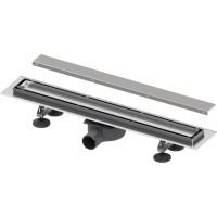 """TECE 15103089 Комплект TECElinus для монтажа дренажного канала 2 в 1, с основой для плитки """"tile"""" и """"steel"""" 80 (74) см, душевой лоток"""
