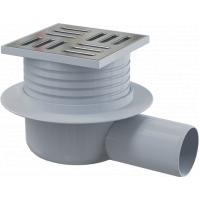 Душевой трап Alcaplast APV26, для ванной, горизонтальный, труба 50мм