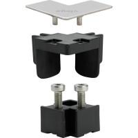 Viega Advantix Vario Соединительный элемент, с угловой декоративной заглушкой, матовой
