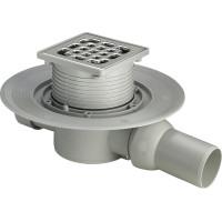 Viega Advatix 557119 Душевой трап для ванной комнаты, сухой затвор, 100х100