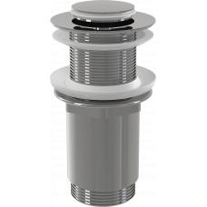 Донный клапан Alcaplast A394 для раковины без перелива, клик-клак
