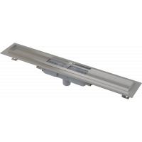 Душевой лоток Alcaplast APZ1101-750 для решетки 750мм, низкий, стальной, вертикальный