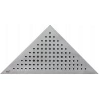 Alcaplast Triton/ARZ1 Стальная решетка для углового трапа