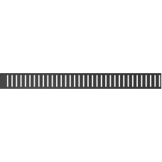 Перфорированная решетка 950мм, для лотка Alcaplast PURE-950BLACK, черная