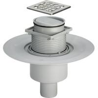 Viega Advatix 583224 Душевой трап для ванной комнаты, вертикальный, 100х100