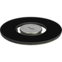 Viega Решетка Advantix Visign RS15 617 189 круглая, стекло черное/сталь, дизайнерская