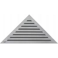 Alcaplast Life/ARZ1 Стальная решетка для углового трапа