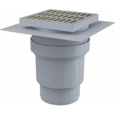 Сливной трап Alcaplast APV13 вертикальный, 150х150мм, слив для канализации 110мм