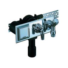 Сифон для стиральной и посудомоечной машины HL 406E DN40/50, с электророзеткой