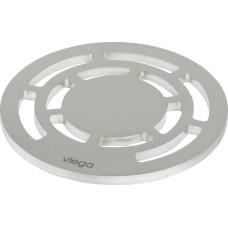 Viega Решетка AdvantixVisign RS13 586 447 круглая, сталь, дизайнерская