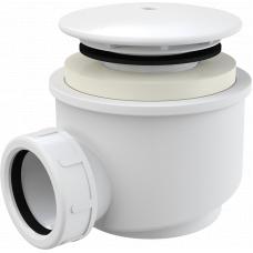 Сифон для поддона Alcaplast A47B-60, белый в корзину, комплектующие
