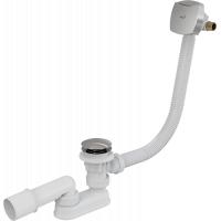 Слив-перелив для ванны Alcaplast A508KM-80, с наполнением, Click-Clack