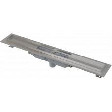 Душевой лоток Alcaplast APZ1101-950 для решетки 950мм, низкий, стальной, вертикальный