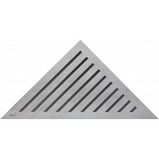 Alcaplast Grace/ARZ1 Стальная решетка для углового трапа