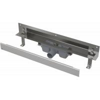Душевой лоток для установки в стену Alcaplast APZ5-EDEN-850 с душевыми решетками