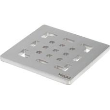 Viega Решетка AdvantixVisign RS2 492 298 квадратная 94х94мм, сталь, дизайнерская