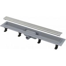 Душевой лоток Alcaplast APZ9-650M комплект с решеткой Simple 9 650мм, корпус пластик