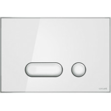 Кнопка смыва Cersanit INTERA P-BU-INT/Whg/Gl белая