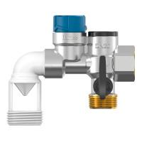 Группа безопасности водонагревателя Flexbrane Flamco CE-H3/4 28388 горизонтальная