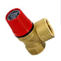 Клапан предохранительный Watts 10004636 1/2 х 3/4 1,5бар для систем отопления