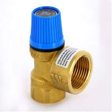 Клапан предохранительный Watts 10004724 3/4 х 1 6бар для систем водоснабжения