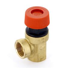 Предохранительный клапан Uni-Fitt BB 240G1522 1/2 1,5бар для систем водоснабжения