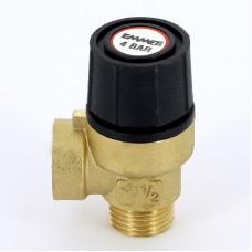 Предохранительный клапан Emmeti 00206040 1/2 4бар для систем отопления