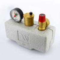 """Группа безопасности котла WATTS 10005204 до 100 кВт 1"""" 3 бар сталь теплоизоляция KSG30"""