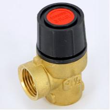 Предохранительный клапан Emmeti 00205030 1/2 3бар для систем отопления