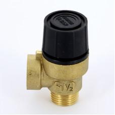Предохранительный клапан Emmeti 00206060 1/2 6бар для систем отопления