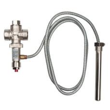 Watts 10004849 Защитный термоклапан STS для твердотопливного котла, 3/4, трубка 2м