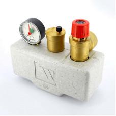 """Группа безопасности котла WATTS 10005205 до 200 кВт 1"""" 3 бар сталь теплоизоляция KSG30"""