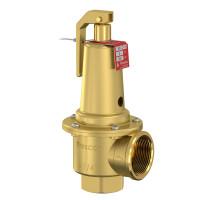 Клапан предохранительный Prescor Flamco 29010, 10 бар 1 1/4 х 1 1/2 для питьевой воды