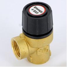 Предохранительный клапан Emmeti 00205035 1/2 4бар для систем отопления