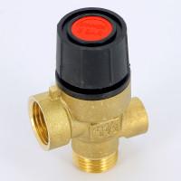 Предохранительный клапан Emmeti 00206090 1/2 3бар для систем отопления