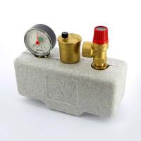 """Группа безопасности котла WATTS 10005227 до 50 кВт 1"""" 3 бар сталь теплоизоляция KSG30"""