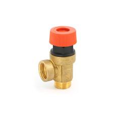 Предохранительный клапан Uni-Fitt HB 242G1522 1/2 1,5бар для систем отопления