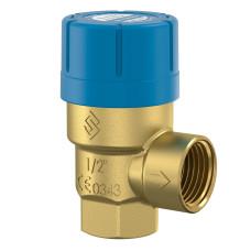Клапан предохранительный Prescor Flamco 27110, 6 бар 3/4 х 1 для питьевой воды