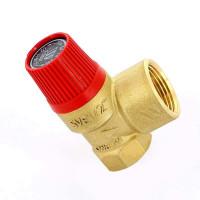 Клапан предохранительный Watts 10004638 1/2 х 3/4 2,5бар для систем отопления