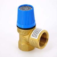Клапан предохранительный Watts 10004704 1/2 х 3/4 8бар для систем водоснабжения