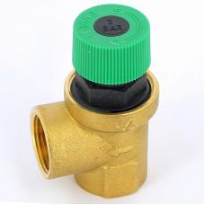 Предохранительный клапан Emmeti 00202334 3/4 3бар для систем отопления