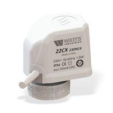 Термоэлектрический привод 10029672 Watts Нормально открытый (no), 24В